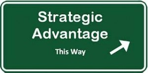 Image discussing tech industry strategic advantage