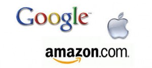 Industry giants Google, Apple & Amazon are tough for tech companies to compete with