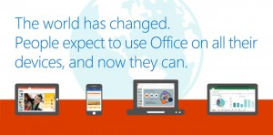 Microsoft Office is now available for free on phones and tablets