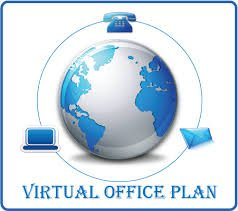 This Image Shows the Virtual Tech Company Office Plan as the Whole World