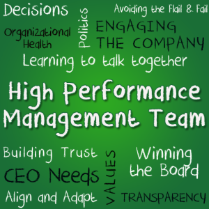 Image Showing Specifics of Assembling a High Performing Tech Company Management Team